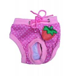 Růžové hárací kalhotky M (25-35cm)