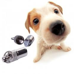 Kovový adresář, přívěšek pro psa
