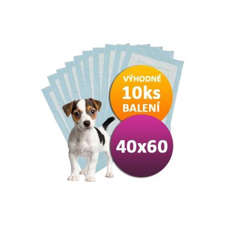 10ks Plen pro psy 40 x 60 cm DOGGIES